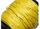 voskovaná šnůrka - žlutá