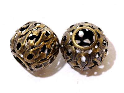 kovový korálek styl VINTAGE