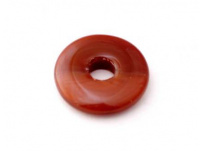 skleněný donut tmavě hnědá