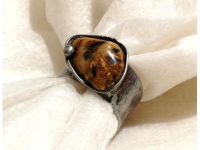 cínovaný prstýnek
