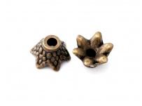 filigrán kaplík-mosaz na korálek 0,7 cm