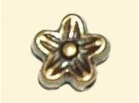 korálek pokov-mosaz kytička