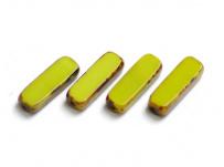 ploškovaný barva kiwi