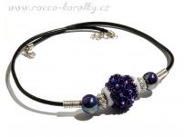 náhrdelník - šitý