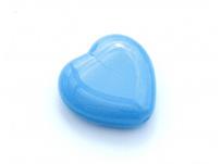 mačkané srdíčko-modré