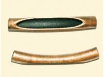 vodič na kůži-staroměď, průměr dírky 4 mm