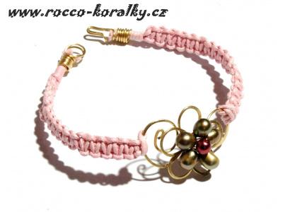 náramek - růžový