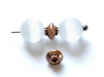 kovový korálek - mezerník