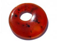 přívěšek - karneol (donut)