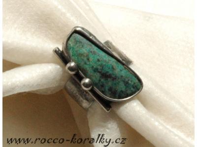 prsten - cínovaný šperk