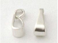 přívěškové očko menší, stříbrná