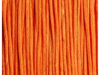 saténová šnůrka - oranžová