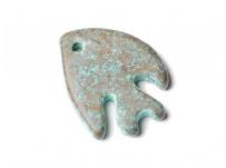 keramický přívěšek - ryba