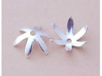 filigrán kaplík-stříbro na korálek 0,8 cm a více