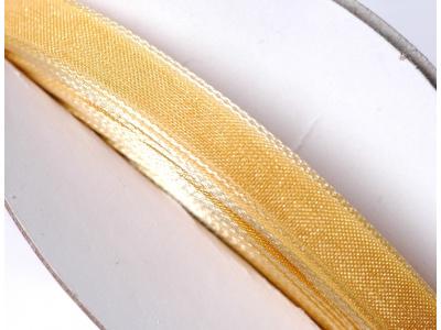 stužka šifónová - zlatožlutá