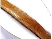 stužka šifónová - zlatohnědá