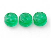 korálek zelená placička