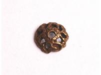 kaplík-mosaz, na korálek 1 cm