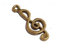přívěsek - houslový klíč