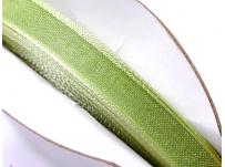 stužka šifónová - sv. zelená