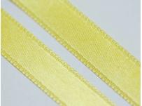 stužka saténová sytě žlutá