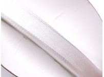 stužka šifónová - bílá