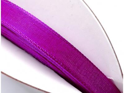 stužka šifónová - fialová