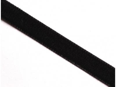 stužka sametová - černá