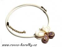 náhrdelník - motýlek