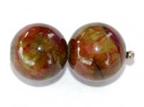 Jadeit Mashan - kulička 14mm