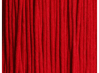 saténová šnůrka - sytě červená