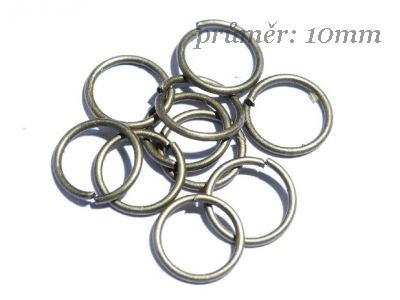 spojovací kroužky (bal 10ks)