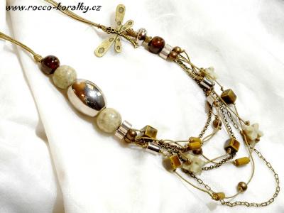 9cdeefc8b náhrdelník s BIG korálkem náhrdelník s BIG korálkem