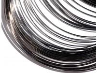 mosazný drát - olověně černý