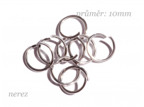 spoj. kroužek 10mm - NEREZ ocel