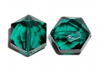 broušený korálek - hexagon