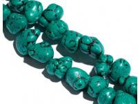 zlomky 20g - zelený tyrkys