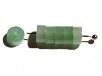 Zelený avanturín - malý donutek (bal 10ks)