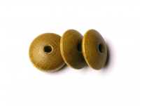 dřevěný korálek, disk