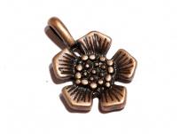 přívěsek - květina