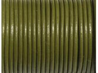 kulatá kůže zelená, 1mm